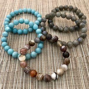Jewelry - Semi-precious Stone Bracelets